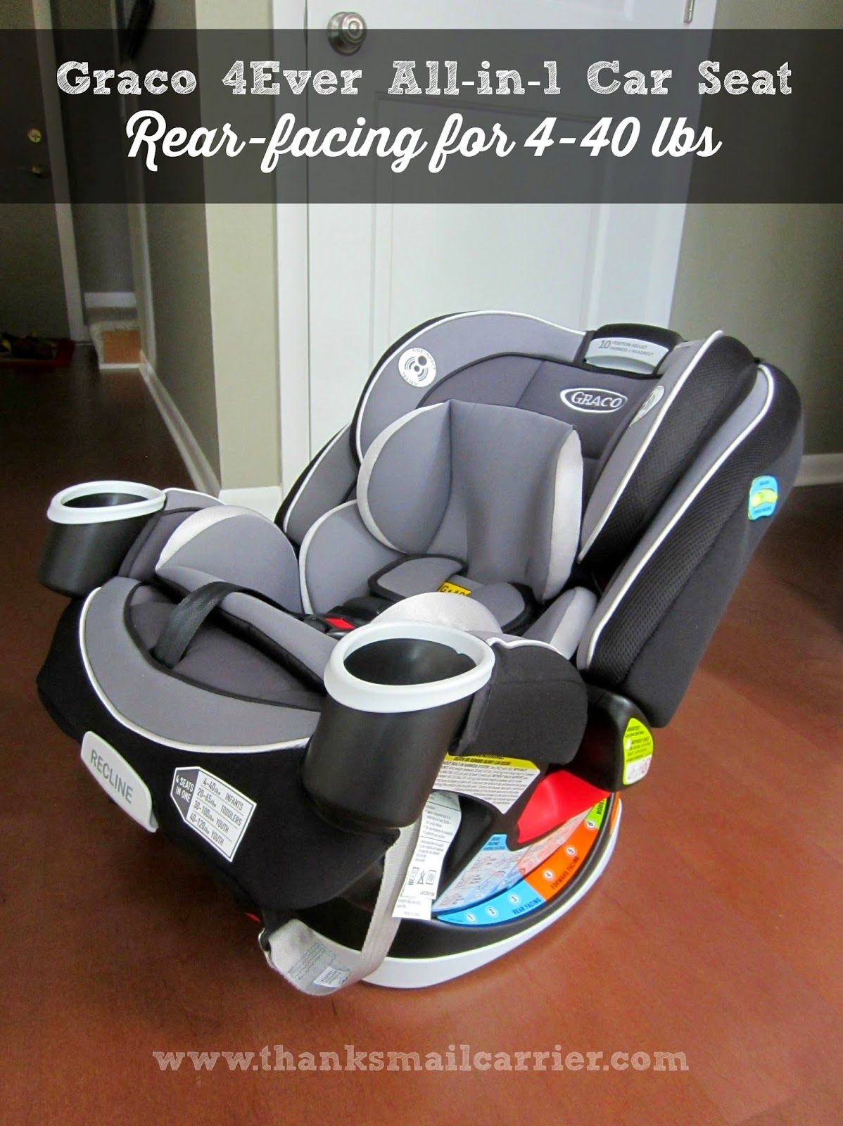 From Baby to Big Kid Graco 4Ever 4in1 Car Seat {Review