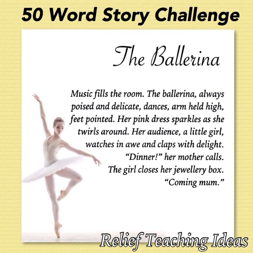 50 Word Stories Students can only use 50 words to create