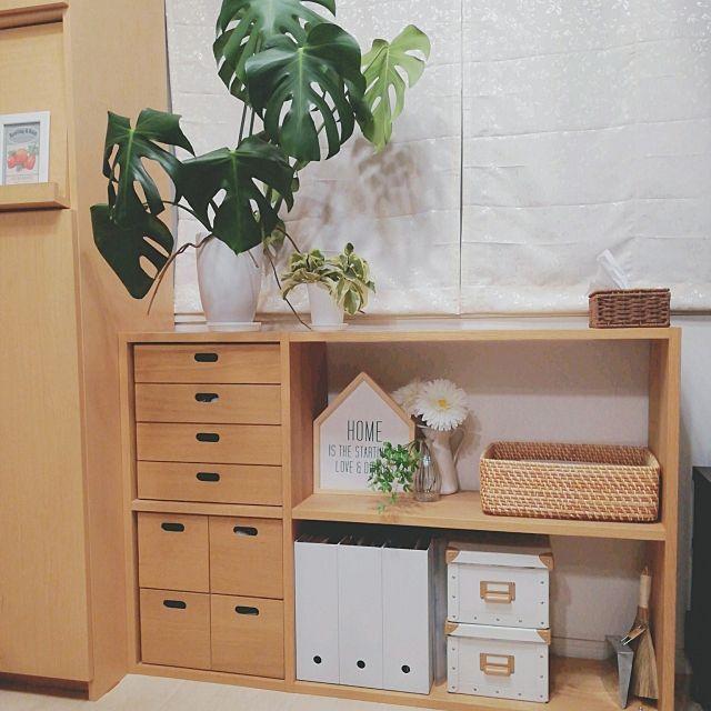 ラタンバスケット/IKEA…などのインテリア実例 - 2017-05-15 20:44:01 | RoomClip(ルームクリップ)