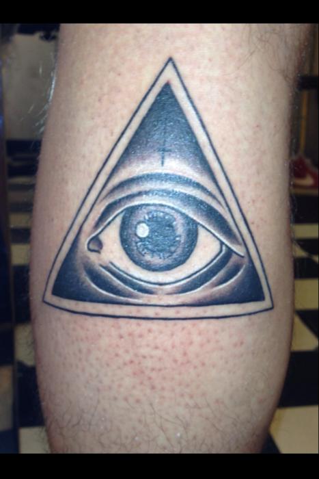Egyptian Pyramid Eye Tattoo Third eye tattoos, Eye