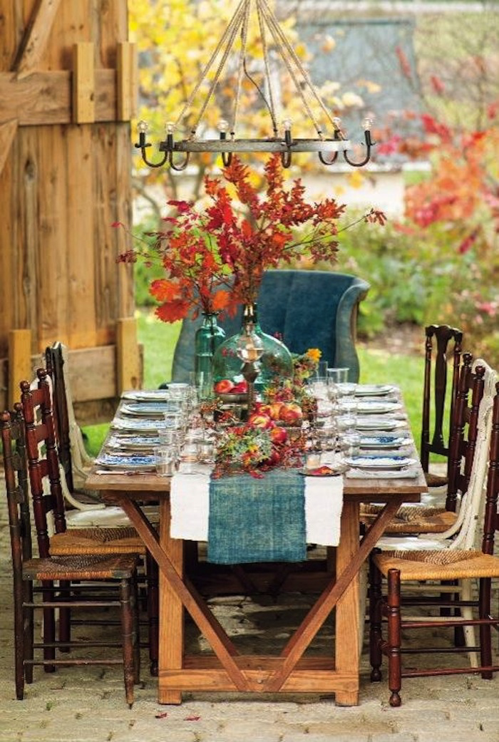 20 Thanksgiving Dining Table Setting Ideas #thanksgivingtablesettingideas