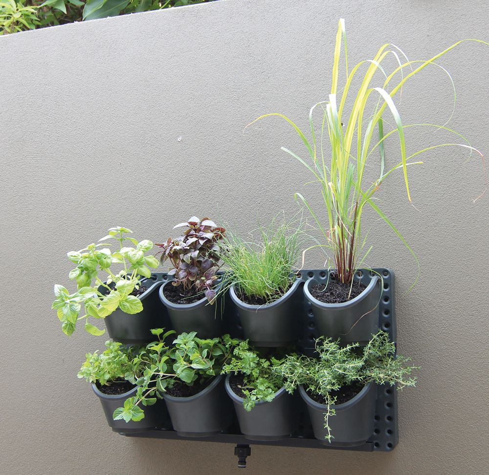 vertical herb garden bunnings Google Search Herb