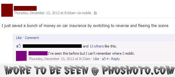 Caughtcha Facebook Quotes Car Insurance Quotes