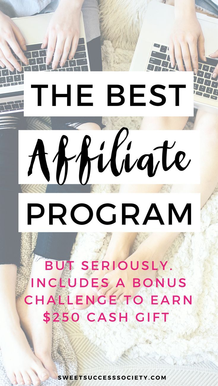 The Best Affiliate Program Out There: The Society is offering BIG  commissions & $250 cash gifts for our affiliates, along with all the tools  you need to ...