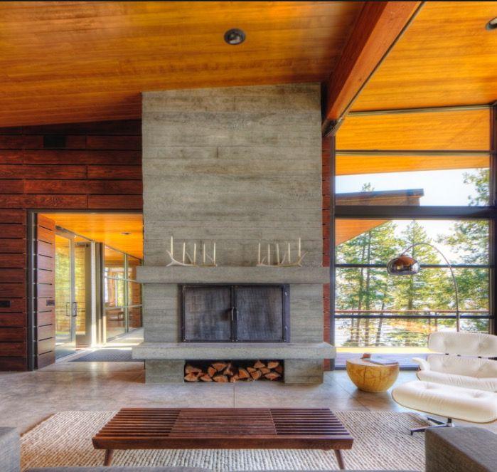 Montana Ranch House By Suyama Peterson Deguchi: Pin On House