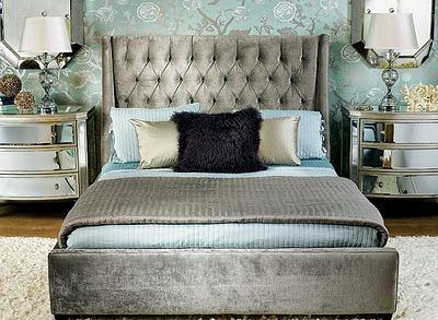 Captivating Room · Hollywood Glam With A Lot Of Chic Style Bedroom Decorating Ideas