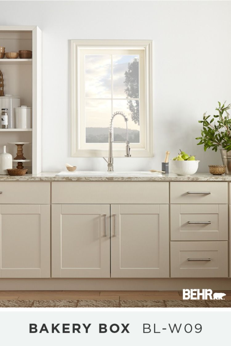 White Gray Paint Paint Cabinets White Behr Paint Colors Kitchen Remodel Small