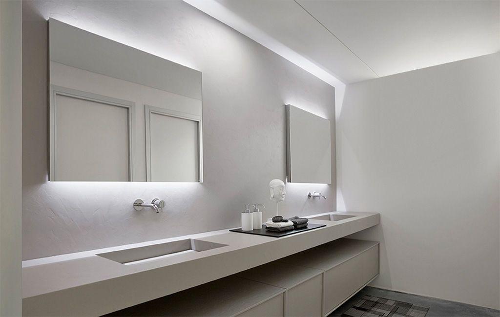 Cheap Illuminated Bathroom Mirrors: Wall Mirror Bathroom Decoration Illuminated Led