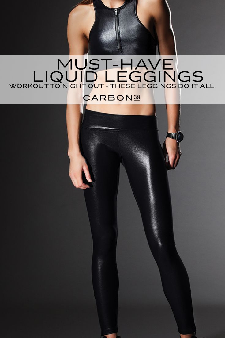The Shine On These Leggings Make Your Butt Look So Good -8021