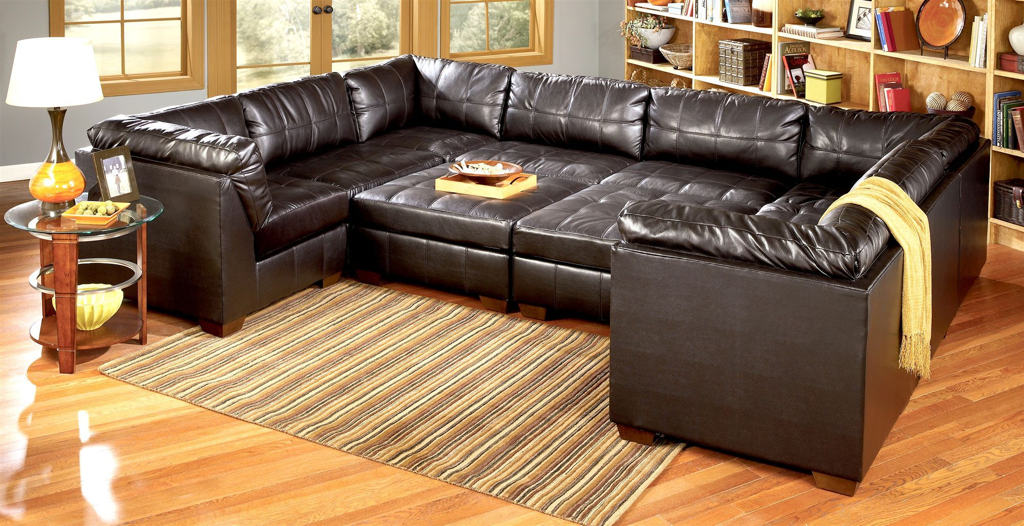 Sectional Sofa Modular Pit Group Sofa Exceptional Size Through