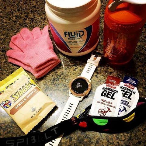 Instagrammer @see_stephanie_run is training for The Boston Marathon! What do YOU do to prep for your long runs?