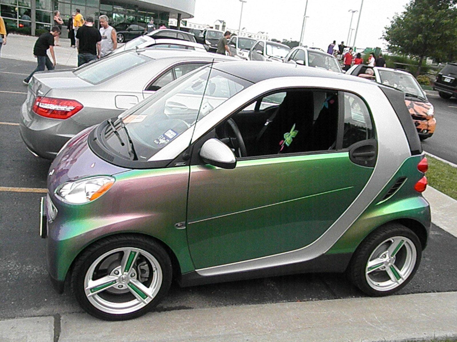 Green car paint colors - Smart Car Changeable Paint Color Cars Smart Car Nationals