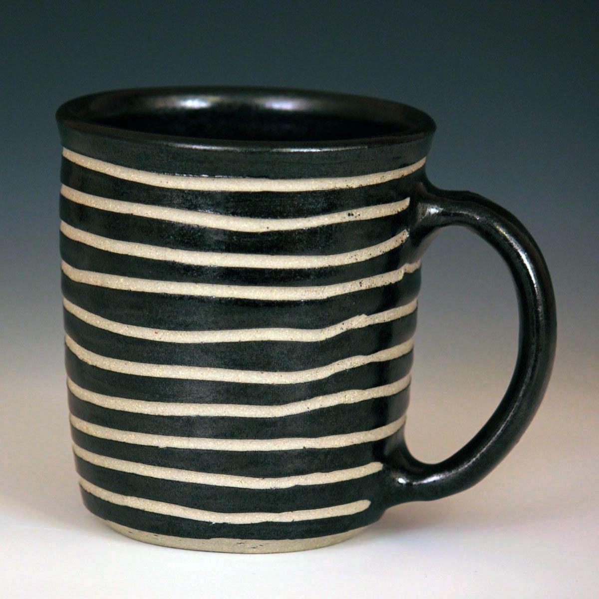 Wheel Thrown Mugs by Larry Halvorsen (Ceramic Mug)   Artful Home