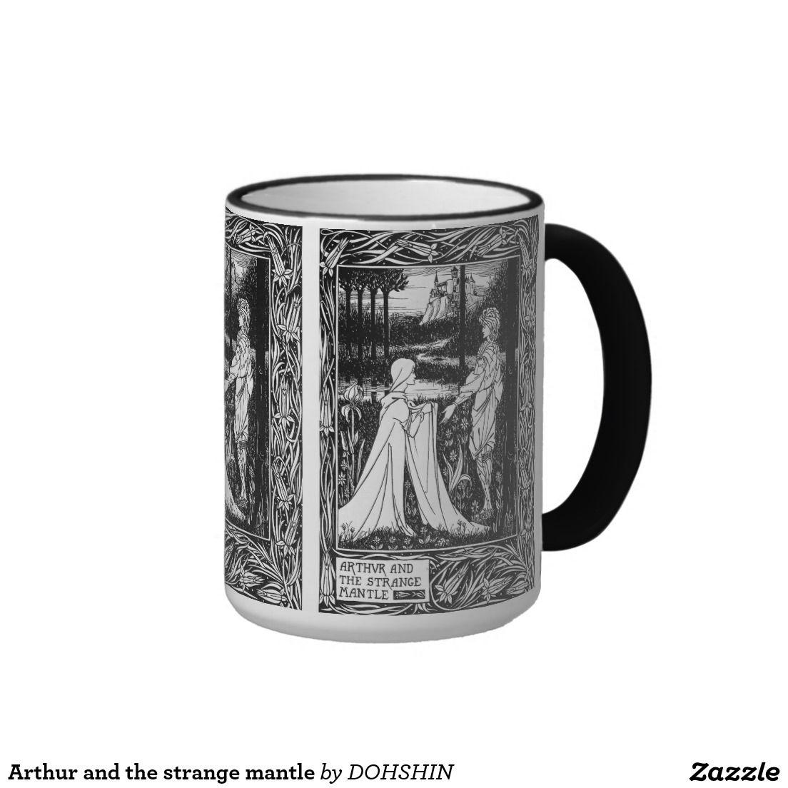 Arthur and the strange mantle リンガーマグカップ