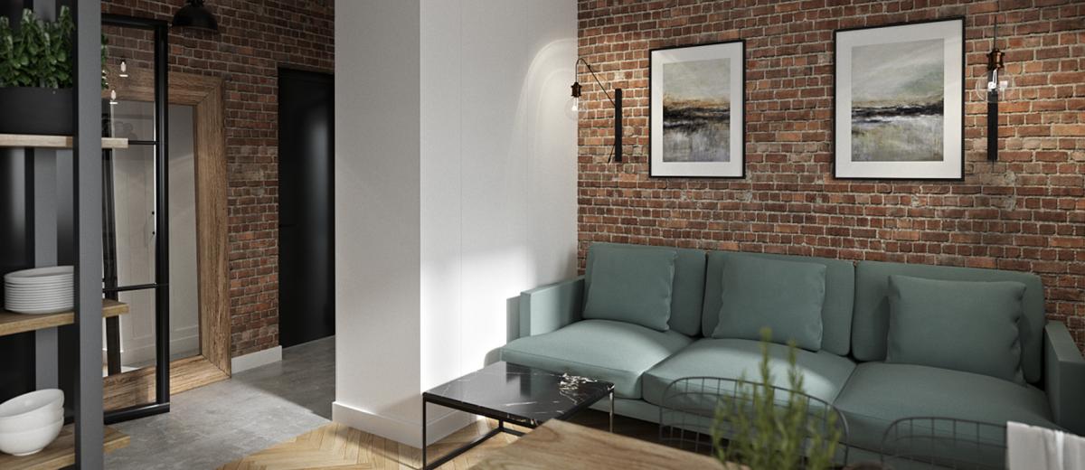 Supreme - idealne 65 metrowe mieszkanie | Proj: HEDO