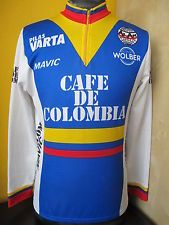 0e0bebe6937 wonder how often a Colombian rider has to reach for the long-sleeved jersey  when