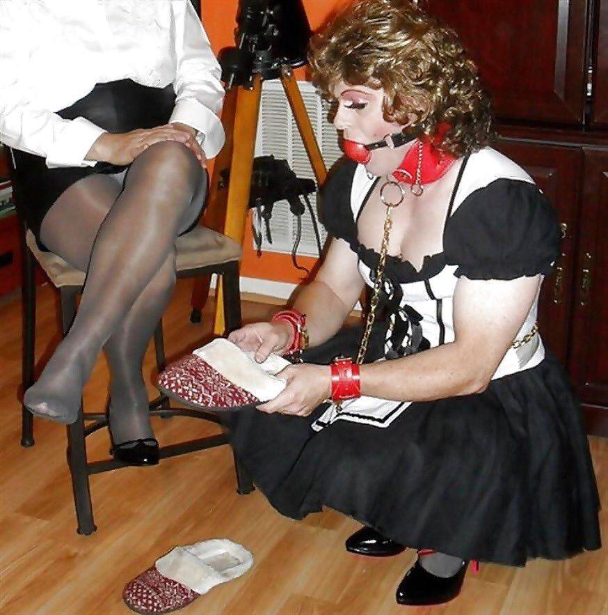 Femdom feminization humiliation
