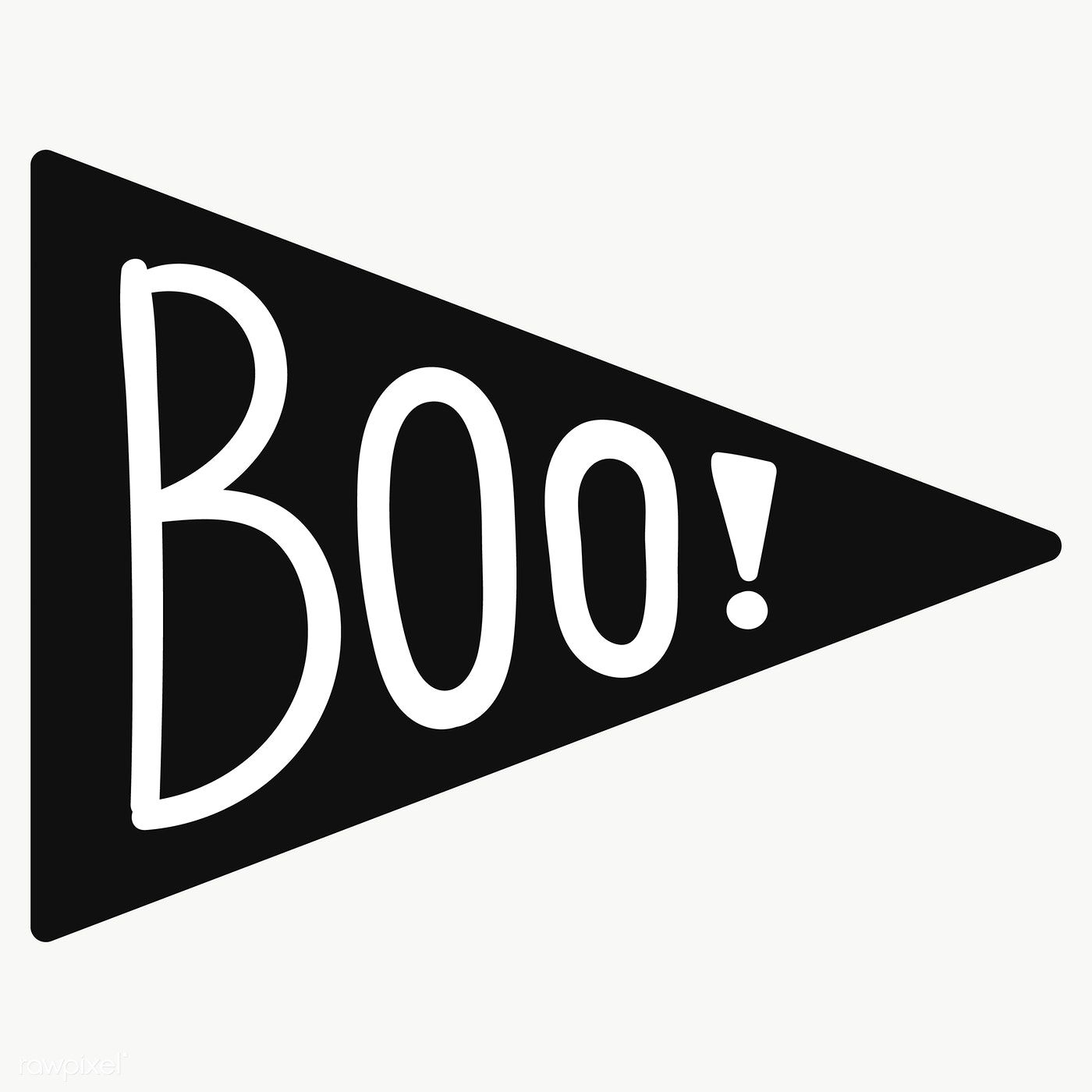 Boo Stiker Design Element Transparent Png Free Image By Rawpixel Com Chayanit Photo Booth Design Design Element Photo Booth Party Props