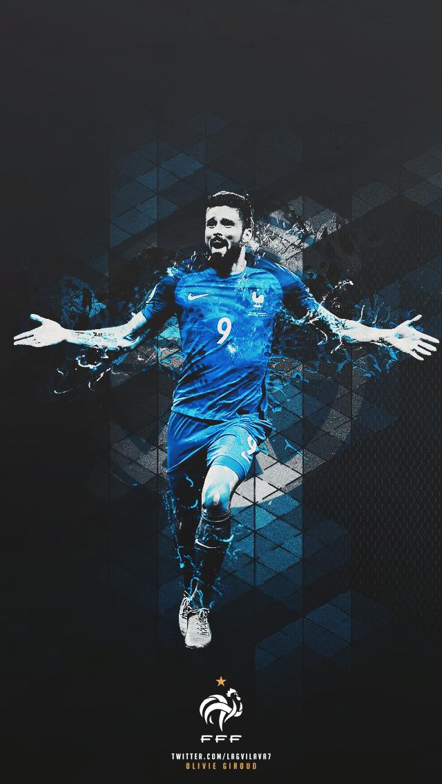Lagvilava7 Football Wallpaper Giroud France Football