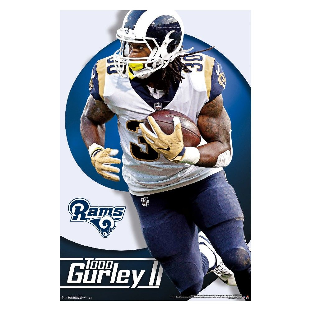 Todd Gurley Is Ready To Run The Los Angeles Rams Into Another Winning Season Fans In Rams Nation Los Angeles Rams Official Nfl Football Los Angeles