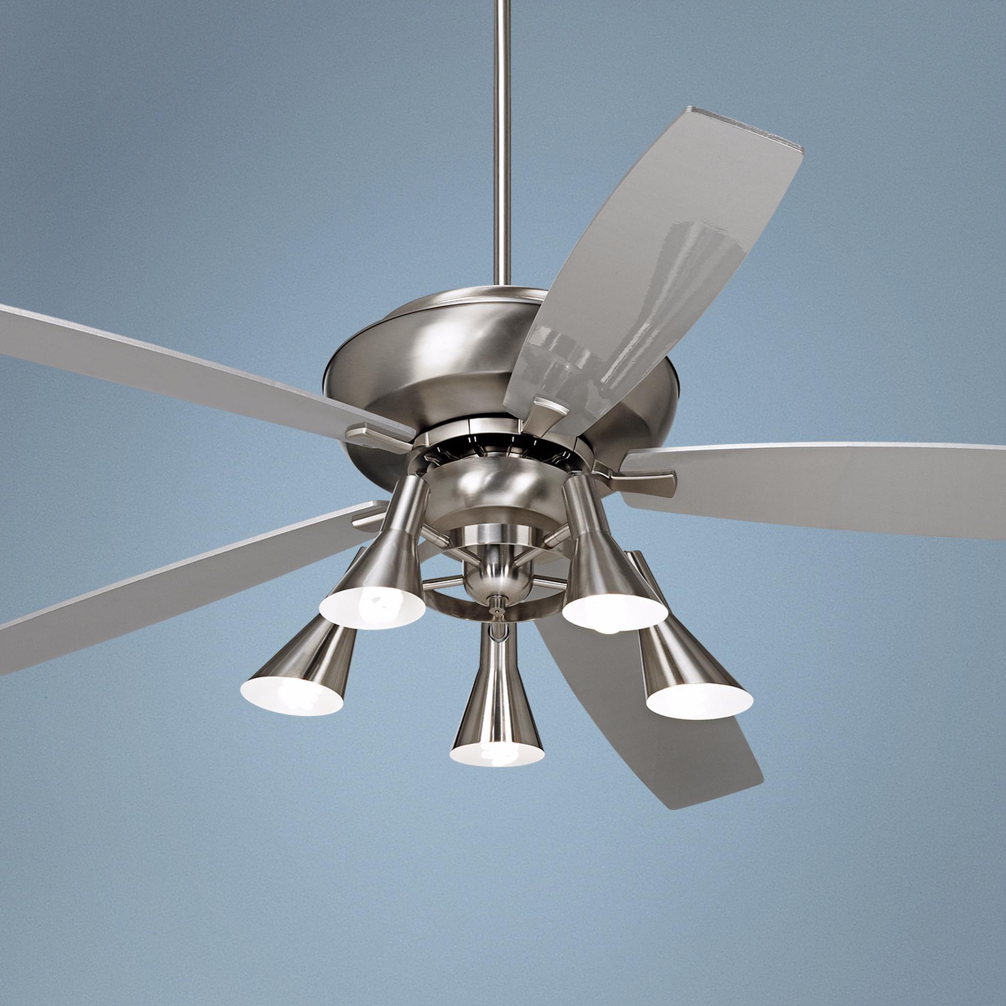 """70"""" Casa Belle Grove™ 5 Light Steel Ceiling Fan"""