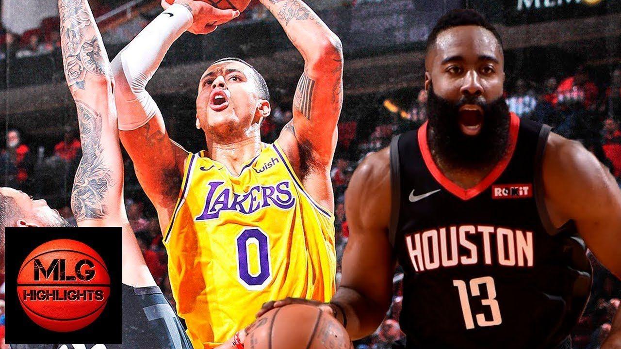 La Lakers Vs Houston Rockets Full Game Highlights 01 19 2019 Nba Season Houston Rockets Nba Season Lakers Vs