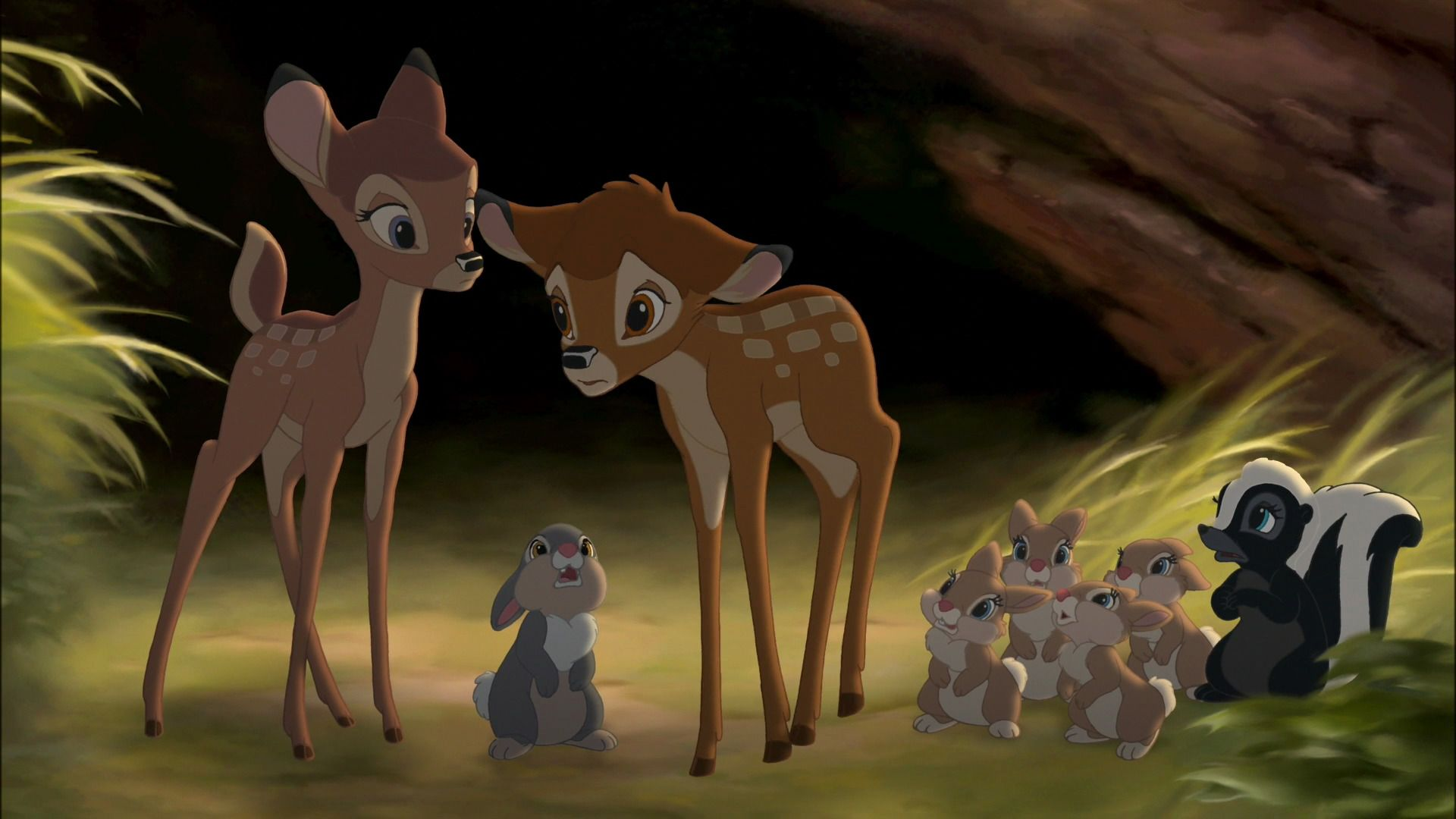 twins Bambi lesbian