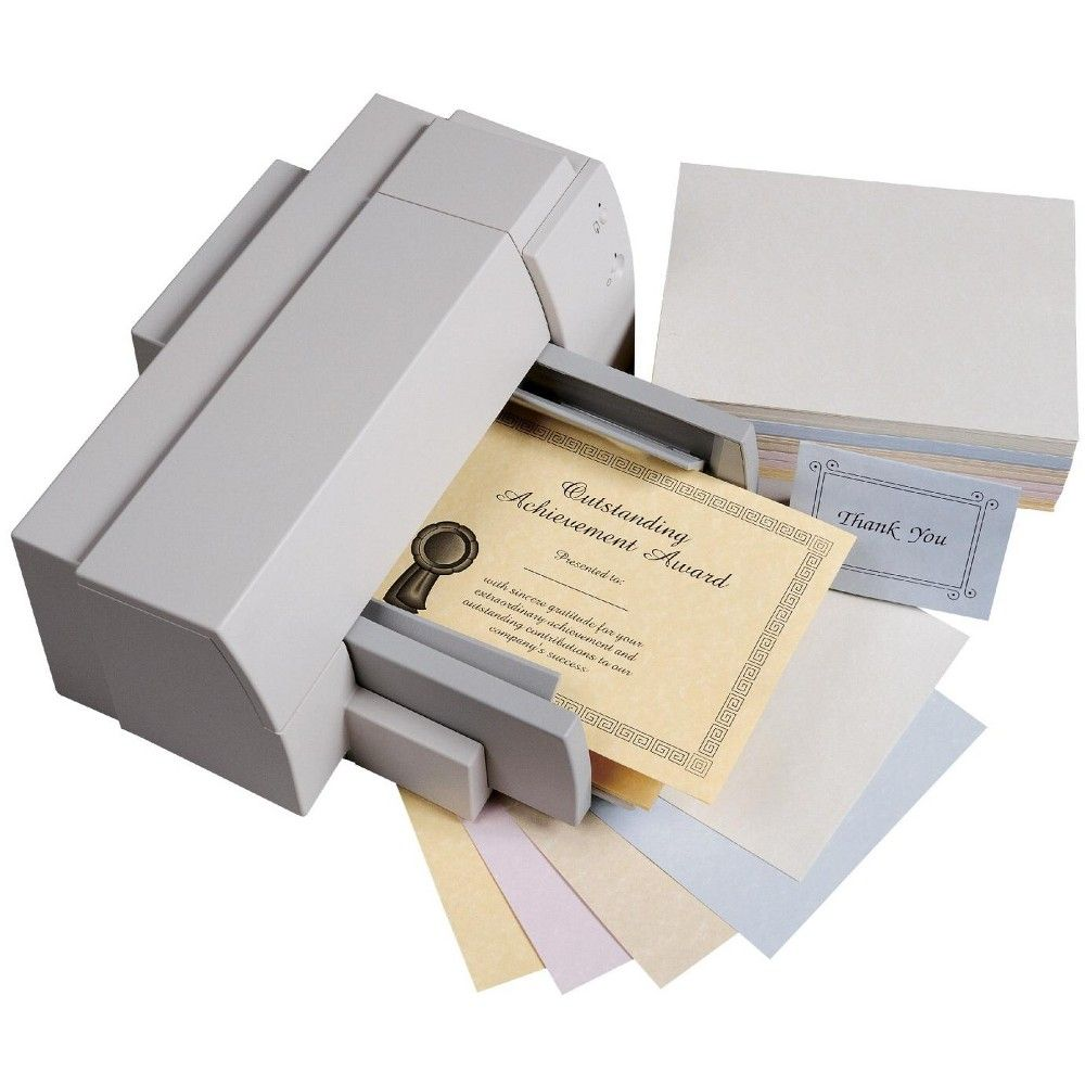 Array Multi-Purpose Paper, 8-1/2 x 11 Inches, 24 lb, Assorted Parchment Colors, pk of 100