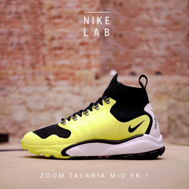 NIkelab Zoom Talaria Mid Flyknit Kicks Pinterest