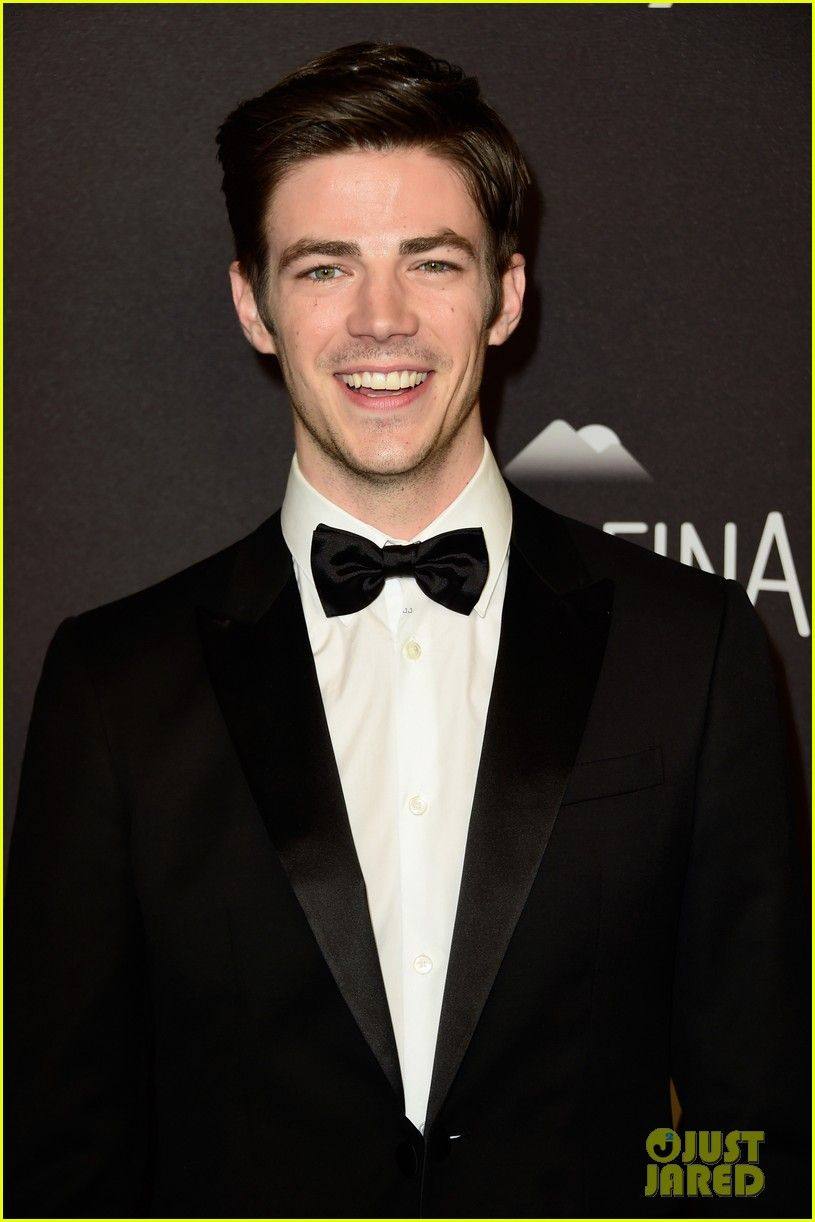 Grant Gustin at the InStyle and Warner Bros.