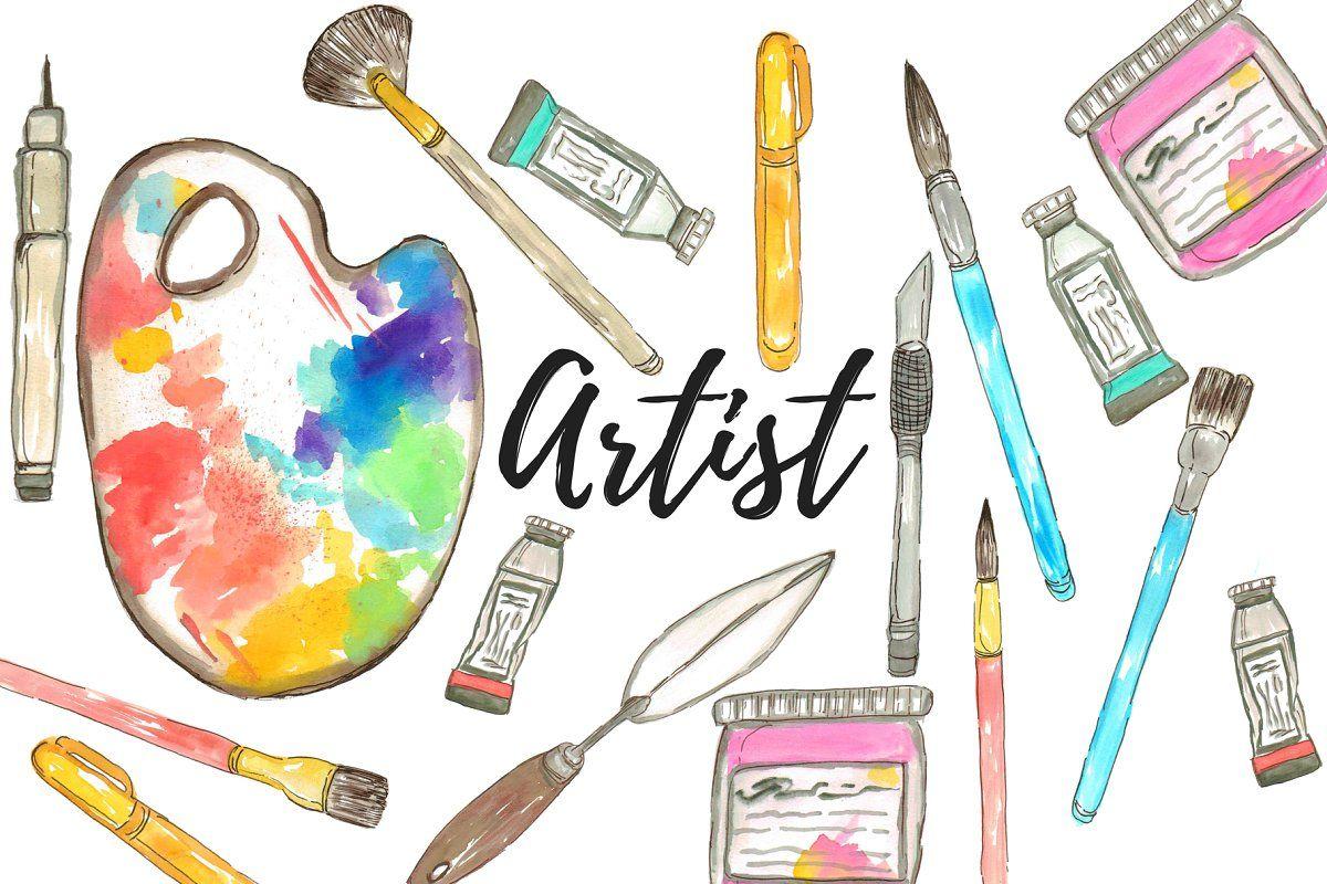 Pin De Linda Bruckner En Coloring Art Fun Articulos De Arte Materiales De Arte Imagenes De Pinceles