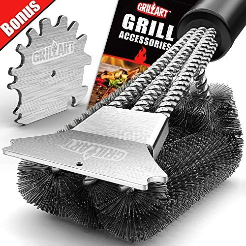 Camp Chef Brush Deluxe Grill Brush 2 Handed By Camp Chef 15 60 Heavy Duty Industrial Grill Brush For Grill Brush Gas Grills On Sale Outdoor Cooking Grills