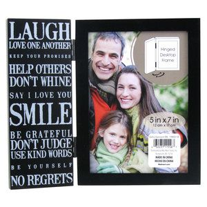 Expression Theme 5x7 Picture Frame ($5 96 at Walmart