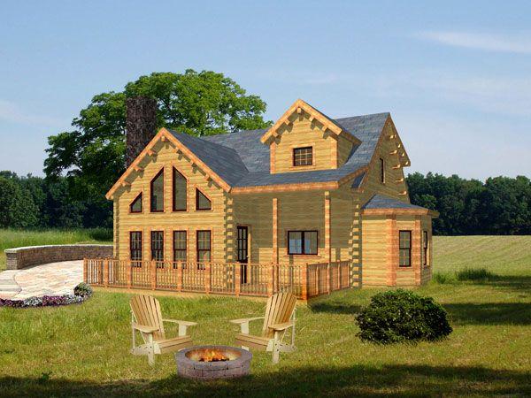House · Adirondack Home Plan ...