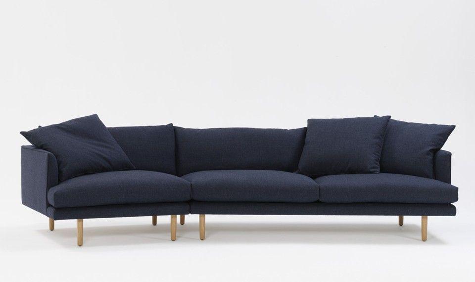 Amazing Nook Sofa In Duffle Navy