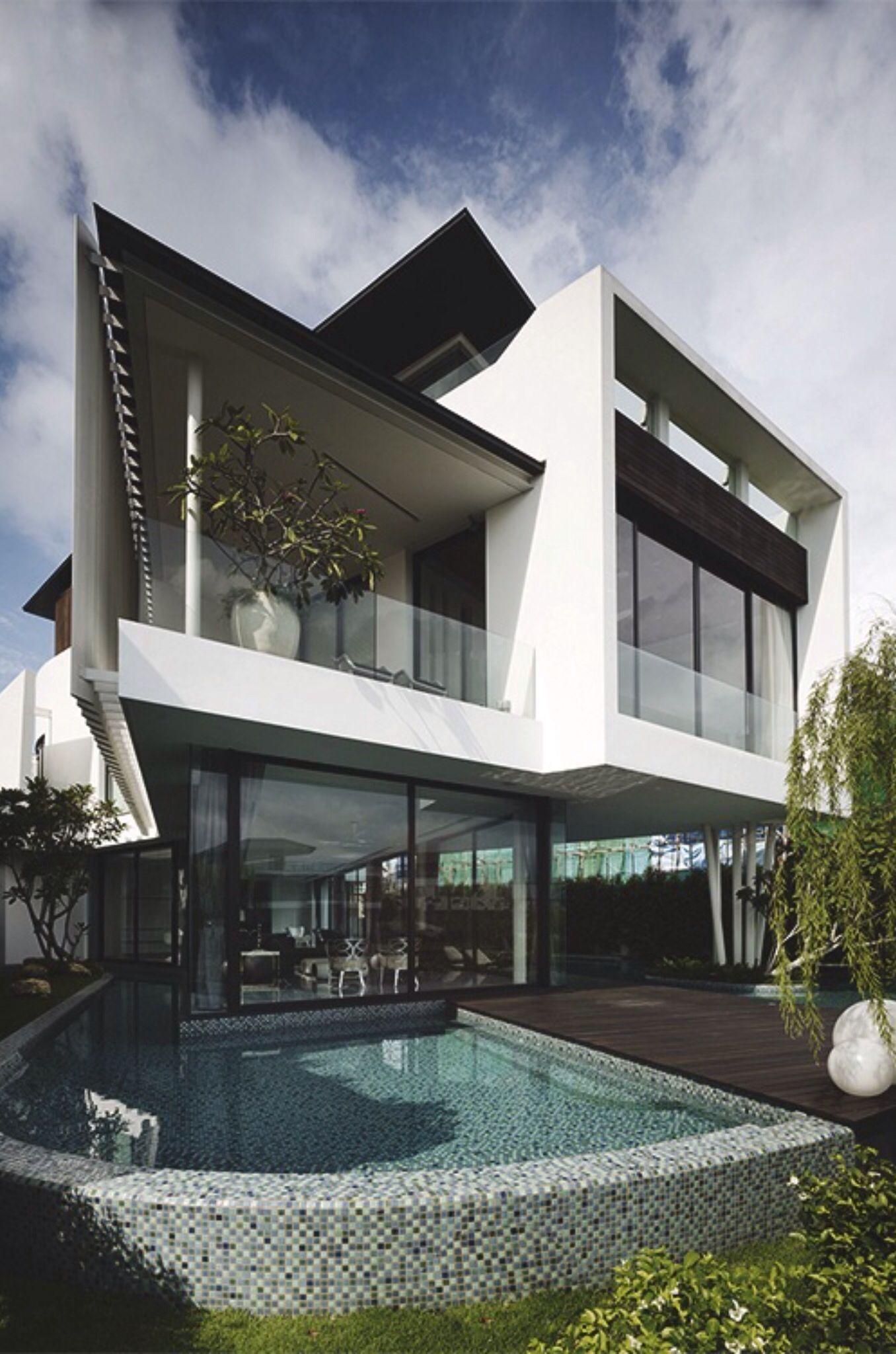 Side view claudio kamargo pinterest architecture luxury pools