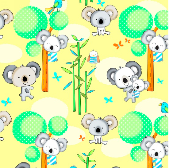 Koala Party Main Yellow