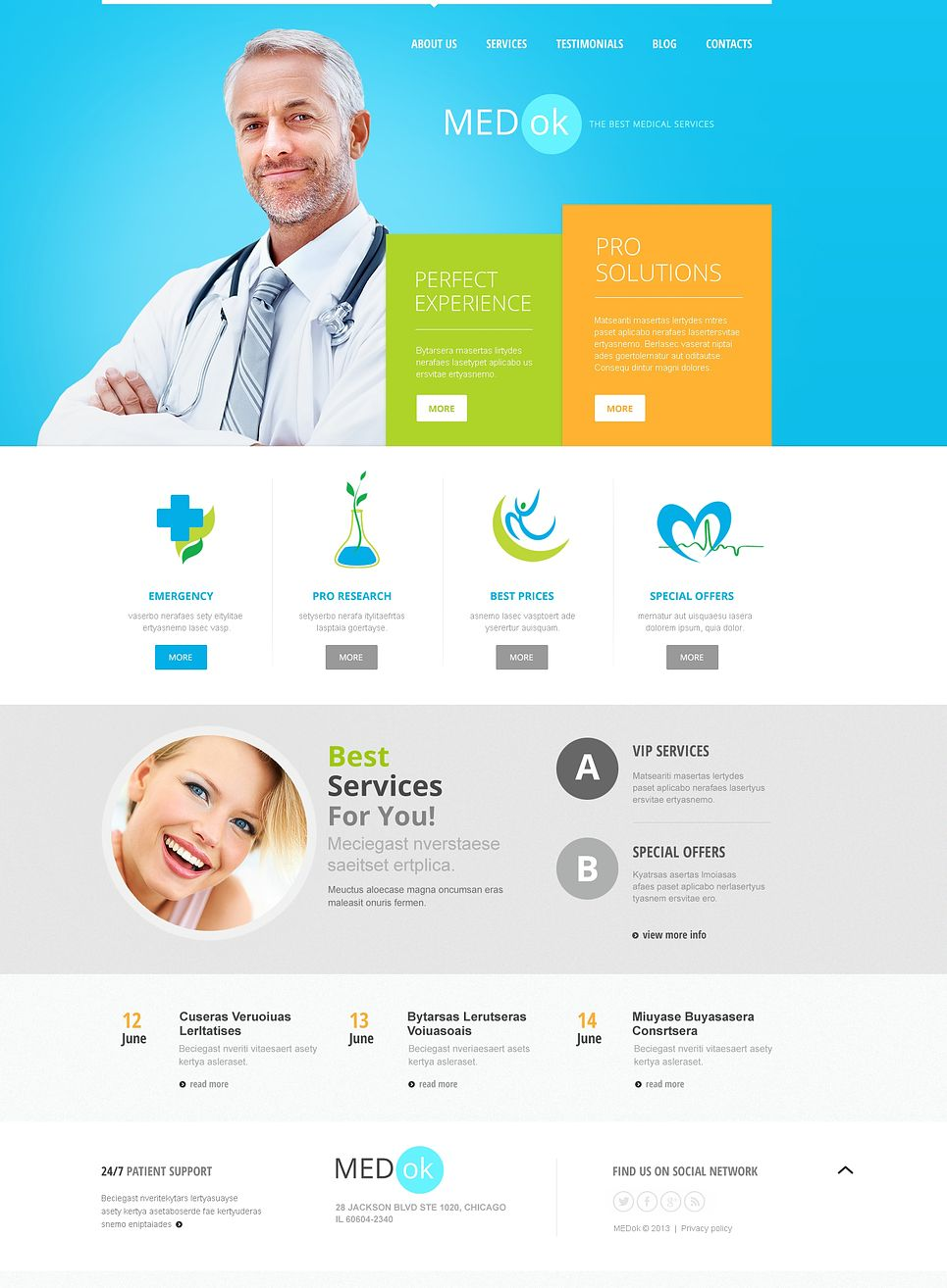 Best Medical Services #Joomla #template. #themes #business ...