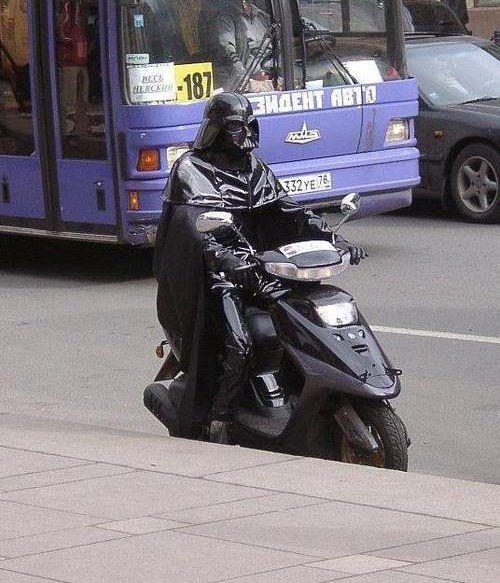 Darth Vader Saves on Gas