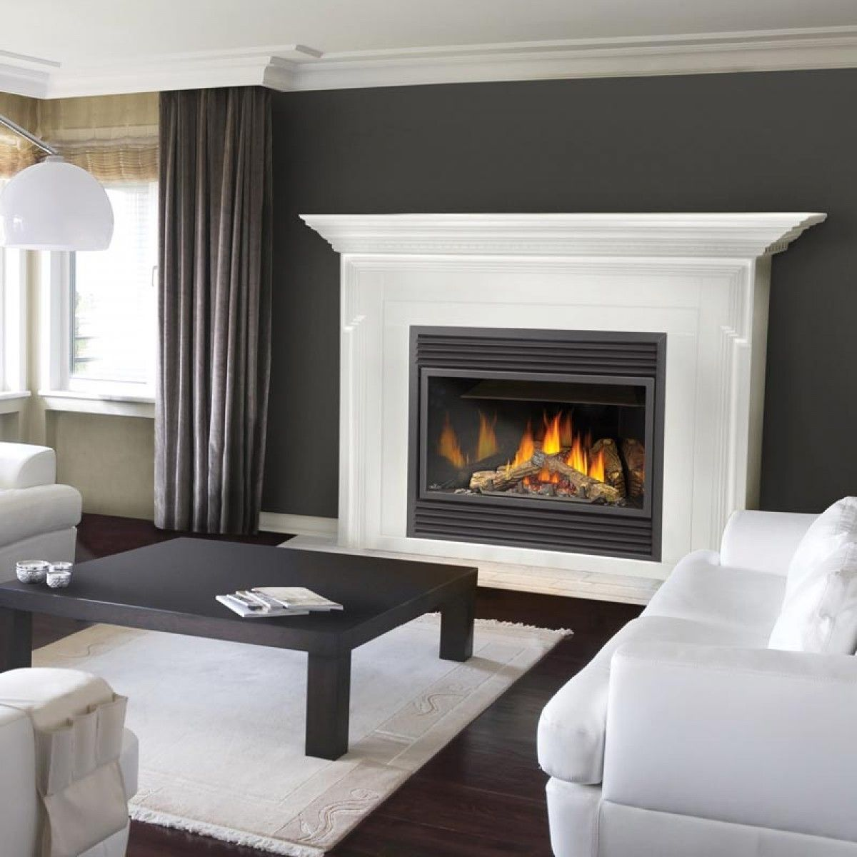 Interior Formalbeauteous White Fireplace Mantel Design