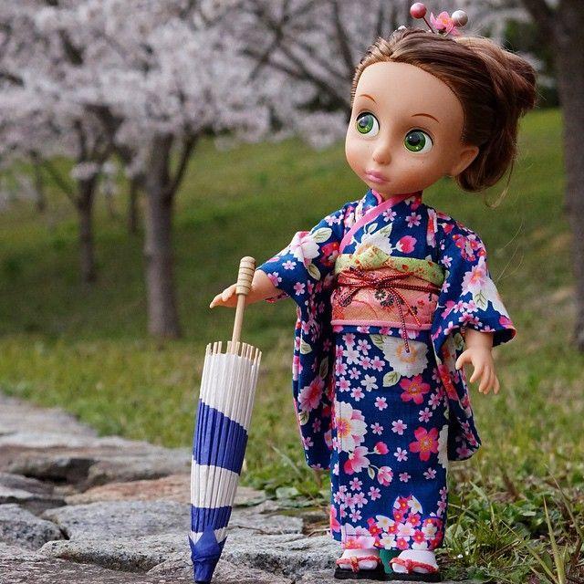Ompele nukelle kimono