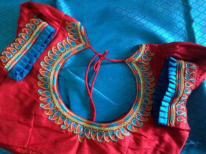 Pin de nandhini ragavan en Aari designs   Pinterest