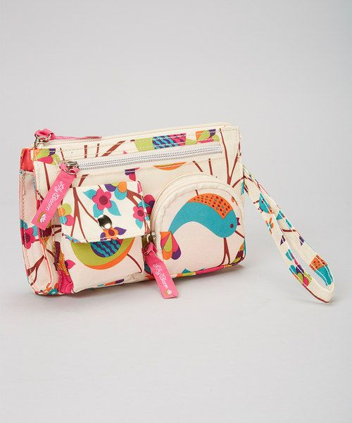 This gorgeous wristlet is a wonder for toting tender and more. With a zipper closure and biodegradable construction, it's a stylish and eco-friendly way to stash essentials.