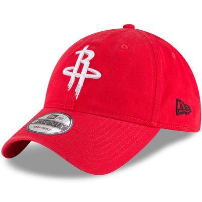 Men S Houston Rockets New Era Red Official Team Color 9twenty Adjustable Hat Adjustable Hat Houston Rockets Houston Rockets Hat