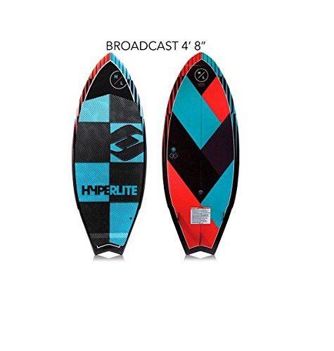 Hyperlite Broadcast 2017 Wakesurf Board 4 8 Wakesurf Boards Wakesurfing Surf Design