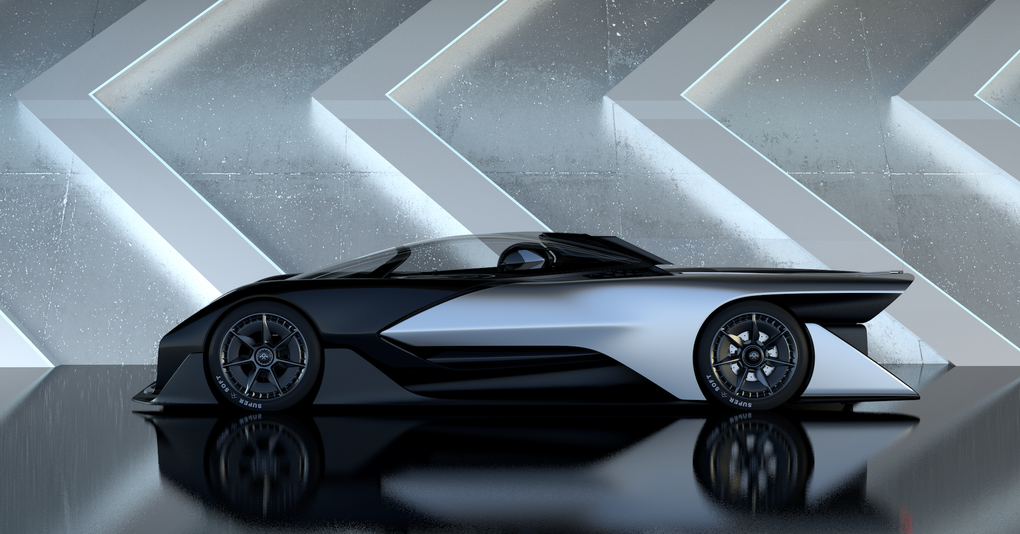 This Is Faraday Future S Ridiculous 1 000 Horsepower Electric Concept Car Faraday Future Future Car Concept Cars