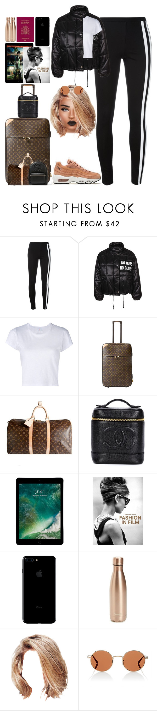 """""""*1871"""" by asoc10 ❤ liked on Polyvore featuring NIKE, Y-3, RE/DONE, Louis Vuitton, Chanel, Chronicle Books, S'well, Oliver Peoples, Gucci and 25"""