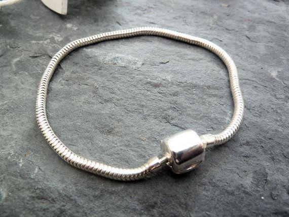 Sterling Silver Snake Chain Bracelet for Big by TripleMoonStar, £30.00