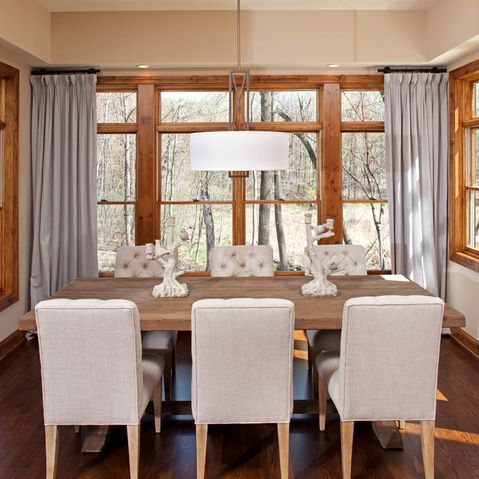 Honey Oak Trim Design Ideas, Pictures, Remodel And Decor | Dining