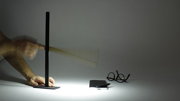 Hekla lampe à poser liseuse lampe de bureau magneto